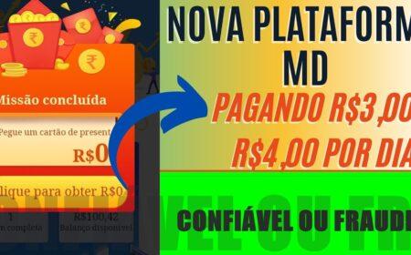 MDFavor Nova Plataforma: Ganho de R$100 no cadastro e saques de R$50 a R$250 no Pix é real? Confira como funciona
