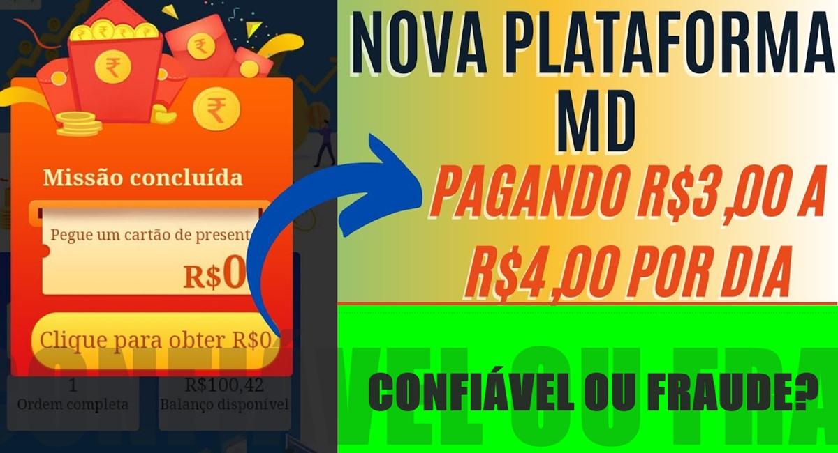MDFavor Nova Plataforma Ganho de R$100 no cadastro e saques de R$50 a R$250 no Pix é real Confira como funciona