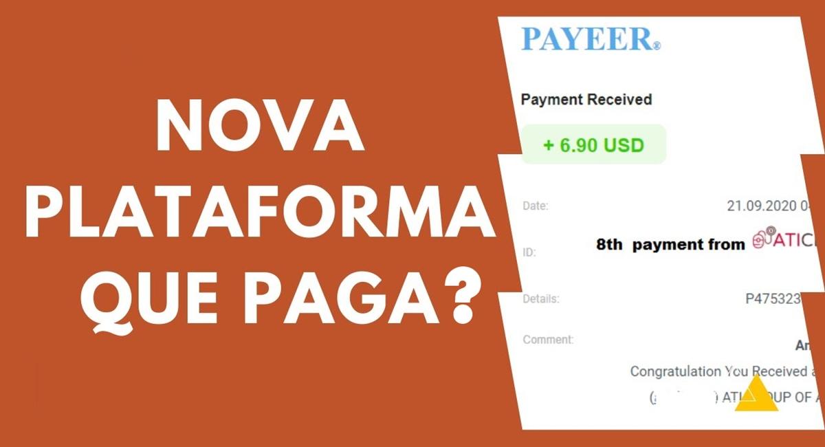 NISKEN plataforma é segura Pagamento de R$ 65 reais por cadastro + R$ 3 por dia é real