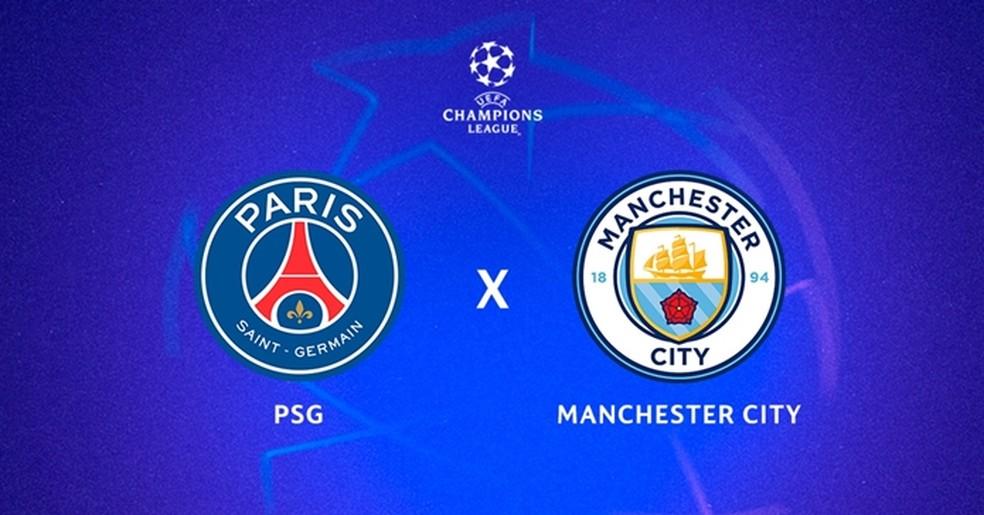 PSG x Manchester City ao Vivo
