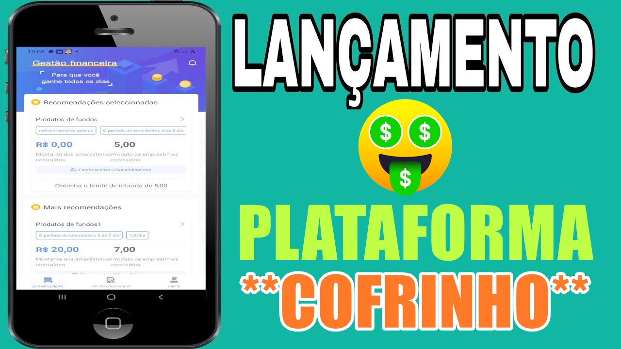 Plataforma Cofrinho com pagamento de R$5 no cadastro + valor diário via Pix sem precisar investir é real ou fake