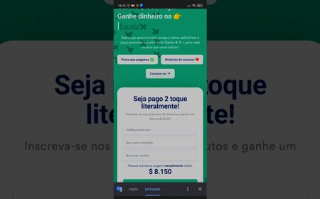 Plataforma Paid2Tap: Pagamento de $500 + $10 por indicação – Teste apps, jogos e receba