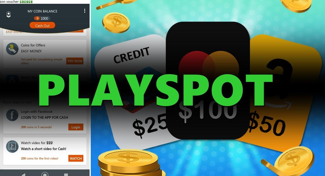 PlaySpot App Aplicativo promete pagamentos para completar tarefas