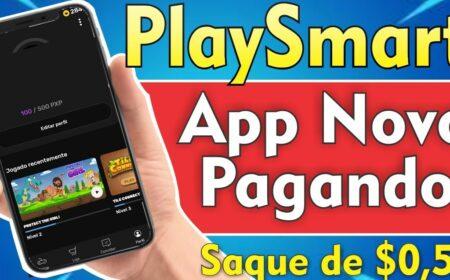 Playsmart App: Receba no PayPal para testar jogos através desse aplicativo