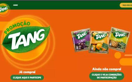 Sorteios milionários Promoção Tang: Veja como participar dos sorteios e ganhar prêmios de até R$ 100 mil
