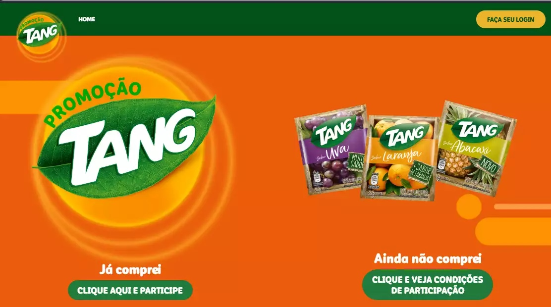 Sorteios milionários Promoção Tang Veja como participar dos sorteios e ganhar prêmios de até R$ 100 mil