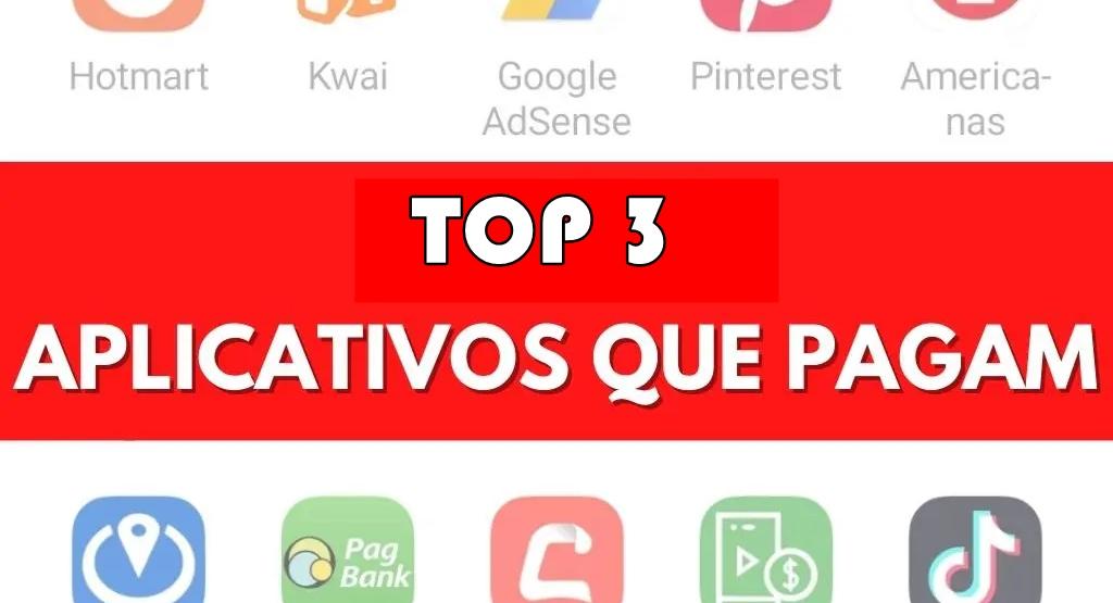 Top 3 Apps que realmente pagam pelo Pix Aplicativos de Pesquisas e Jogos
