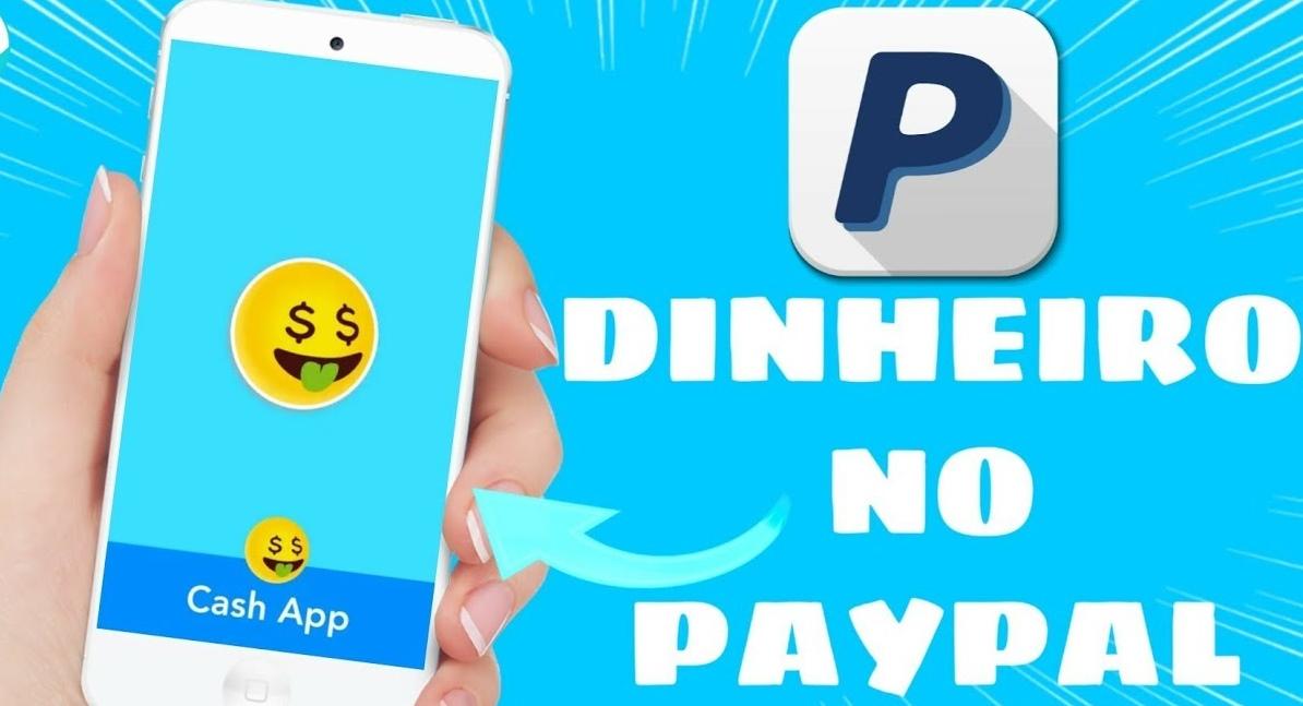 1 2 Cash App paga mesmo Aplicativo com ganhos via PayPal e saque pelo Pix
