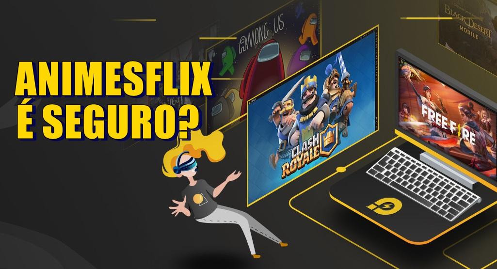 AnimesFlix v2 App é seguro Aplicativo para assistir animes online através do Celular, Tv ou PC