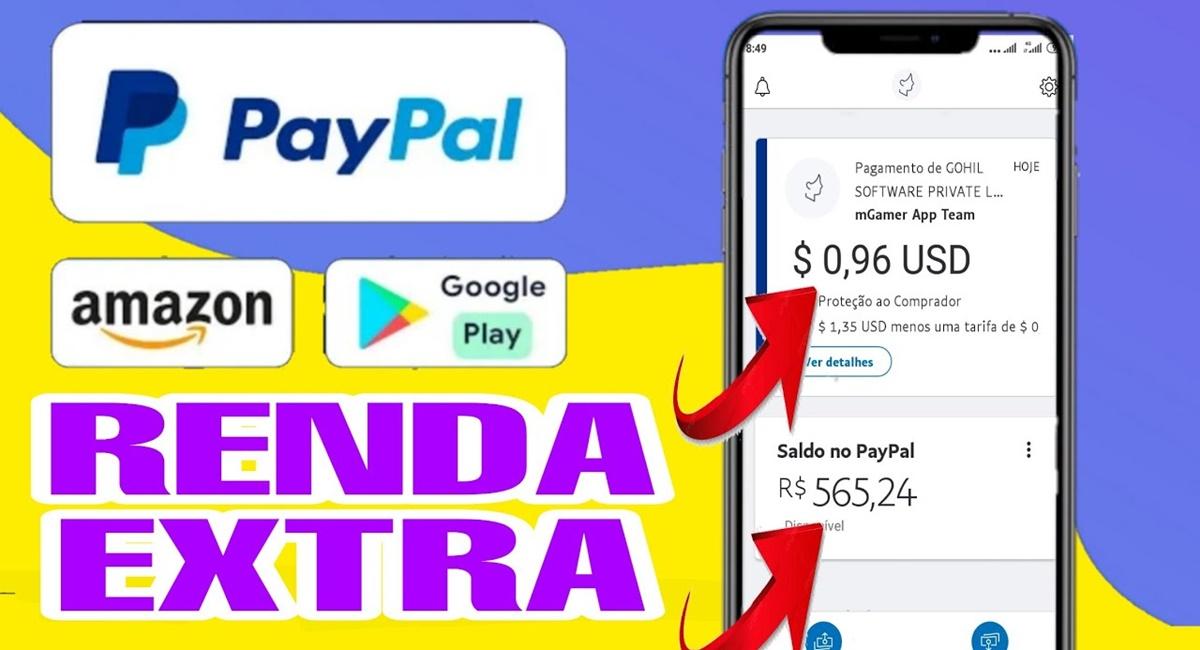 App para ganhar dinheiro no PayPal com pagamentos na hora Conheça algumas opções