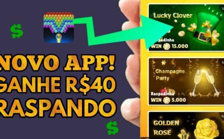 Bubble Shooter Pro App: Novo aplicativo permite saques via PayPal e Pix para jogar