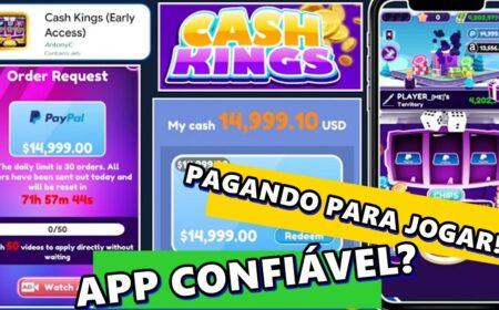 Cash Kings App paga de verdade? Novo aplicativo promete pagamentos via PayPal e Pix para jogar