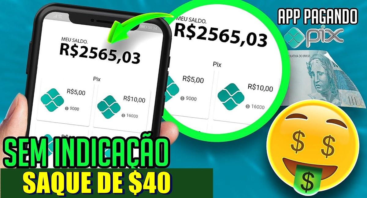 Cash Rewards Real App Pagamento de até $40 via PayPal e Pix através do novo aplicativo