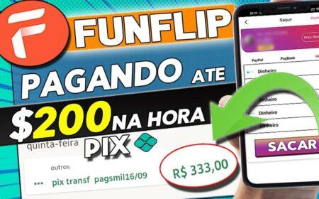 FunFlip App: Aplicativo com pagamentos via Pix e PayPal na hora funciona mesmo?