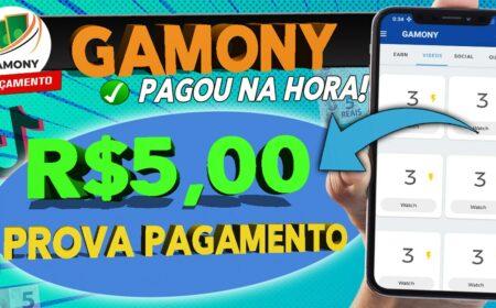 Gamony App com prova de pagamento? Receba R$20,00 por dia no Pix ou PayPal apenas jogando: Funciona mesmo?