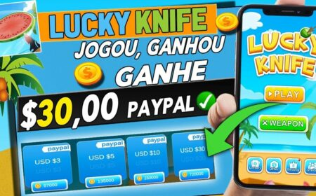 Lucky Knife App paga mesmo? Prova de pagamento de R$48 no Pix é real?