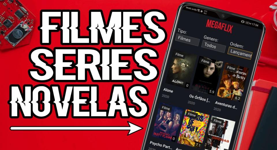 MegaFlix App é seguro Aplicativo para assistir Filmes, Séries e Animes