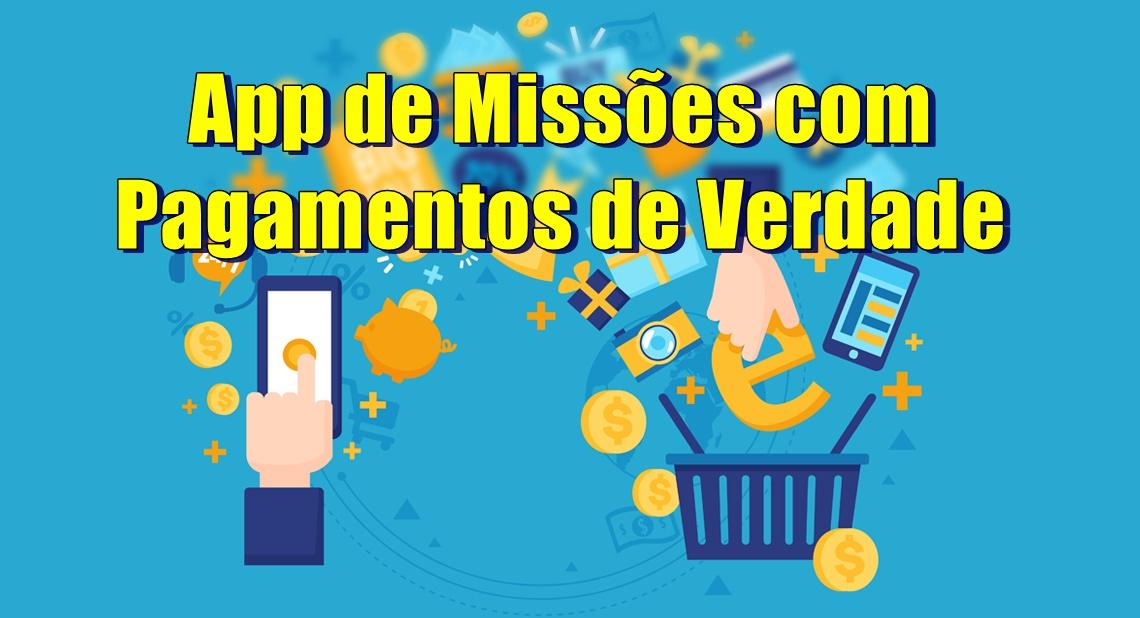 Melhor App de Missões com Pagamentos de Verdade via Pix Veja como usar e receber pelo aplicativo
