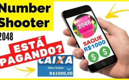Number Shooter 2048 App paga de verdade? Saque de R$1000,00 via PayPal e Pix é real?