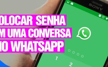 Passo a Passo de como proteger suas conversas salvas com senha no WhatsApp