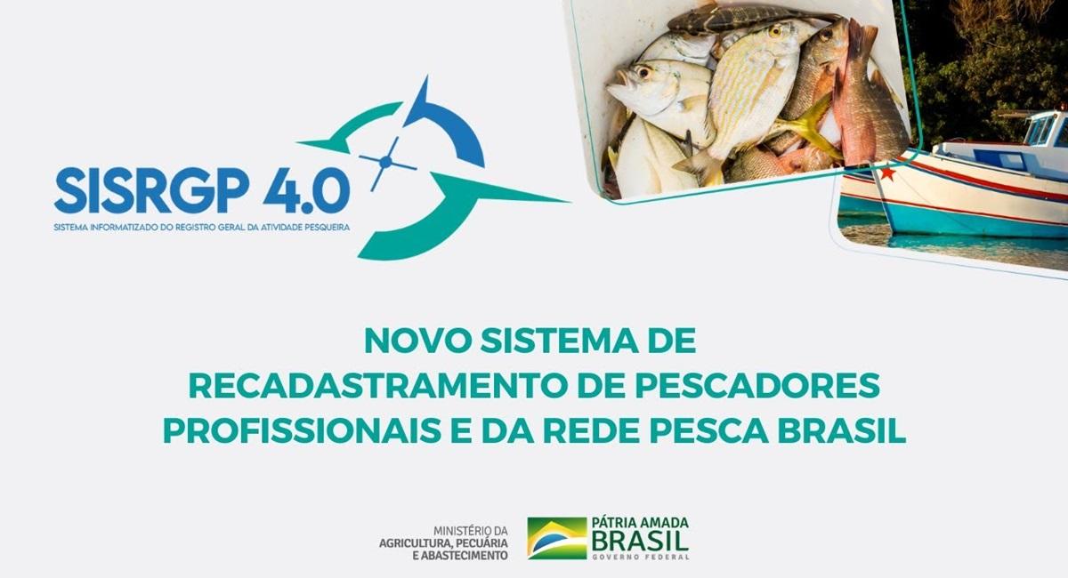 Recadastramento Pescador 2021 SisRGP 4.0 Passo a Passo de como fazer e prazo em todo o Brasil