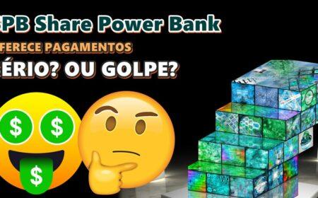 SPB Share Power Bank Plataforma é pirâmide? Pagamentos de R$4,50 por dia + saque de R$10 via Pix sem precisar investir é verdade?
