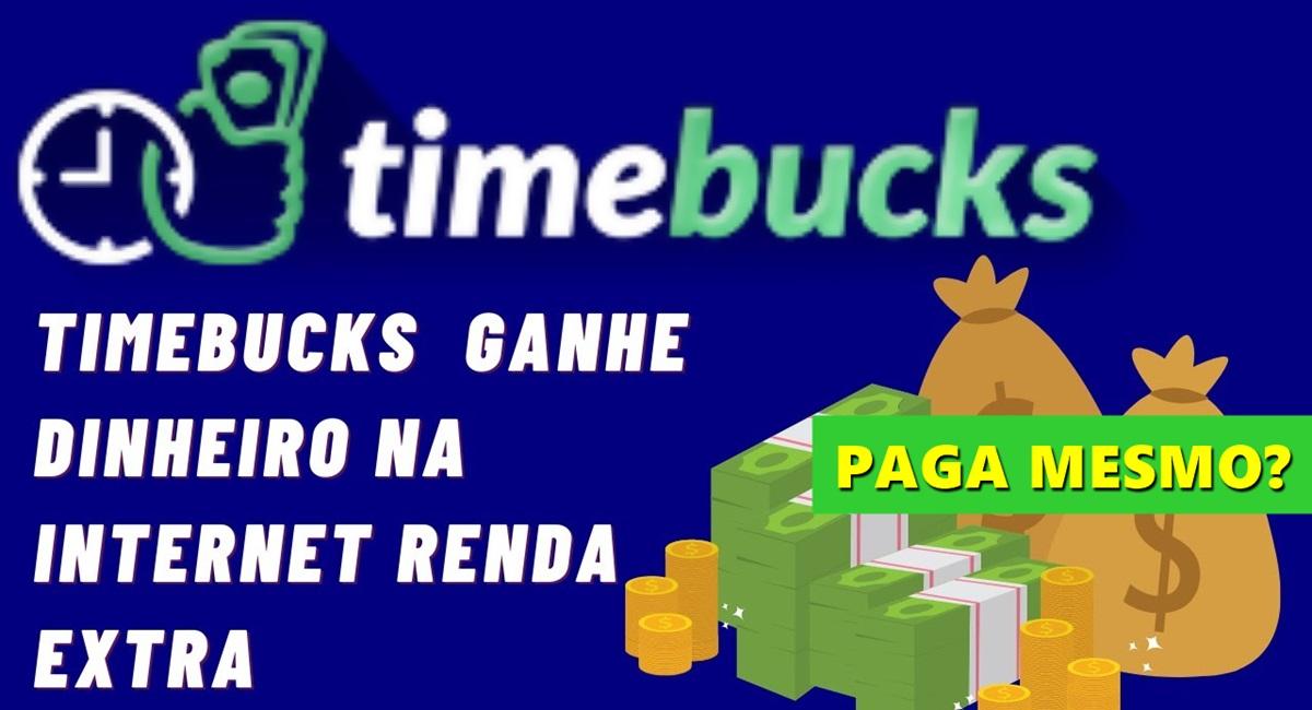 TimeBucks Plataforma paga mesmo