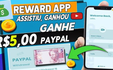 Video Reward App: Novo aplicativo gratuito pagando no PayPal e Pix para realizar tarefas